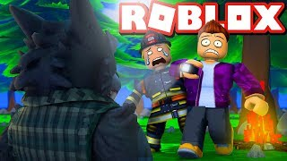 RIESEN WERWOLF WILL EAT US IN ROBLOX!