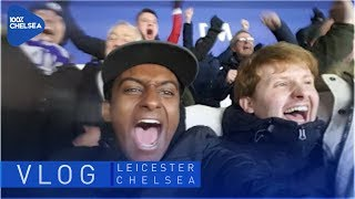 LEICESTER 1-2 CHELSEA MATCHDAY VLOG || MATCHDAYS WITH LEWIS
