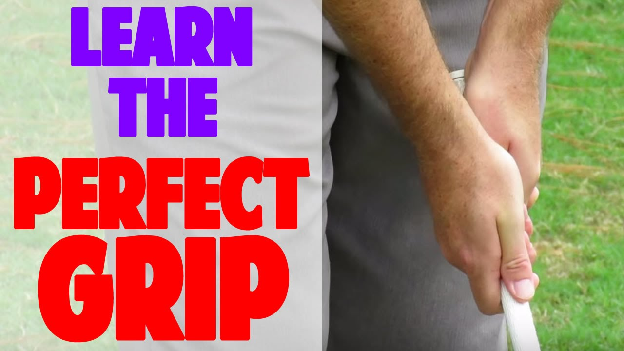 How To Grip The Golf Club (Crazy Detail) - YouTube