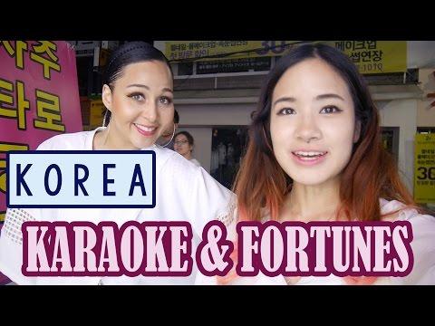Korea Vlog: Shopping, Karaoke & Fortune Telling | ft. Chonunmigooksaram & Sunnydahye