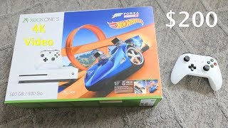 $200 Xbox One S - With Forza Horizon 3 Hot Wheels - Unboxing