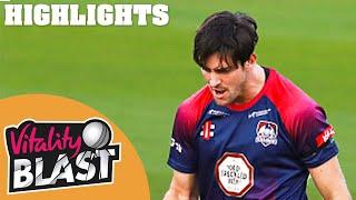 Northamptonshire V Glamorgan   Tight Game Goes To Last Over!   Vitality Blast 2020 Highlights