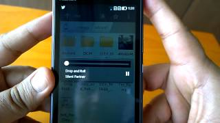 Nokia X2 display test, video watching, Music output quality