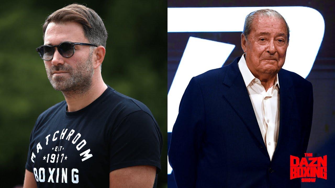 Eddie Hearn Hits BACK At Bob Arum Over Joshua vs. Fury Negotiations