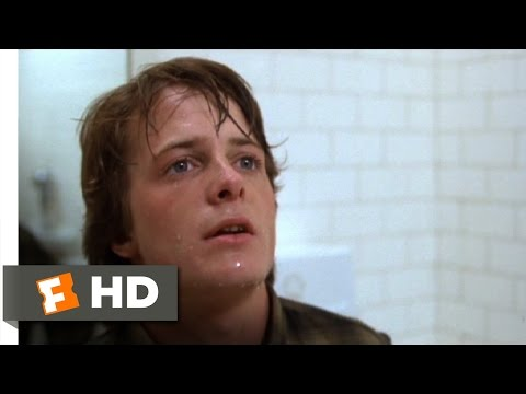 Teen Wolf (1985) - Caught in the Bathroom Scene (4/10) | Movieclips