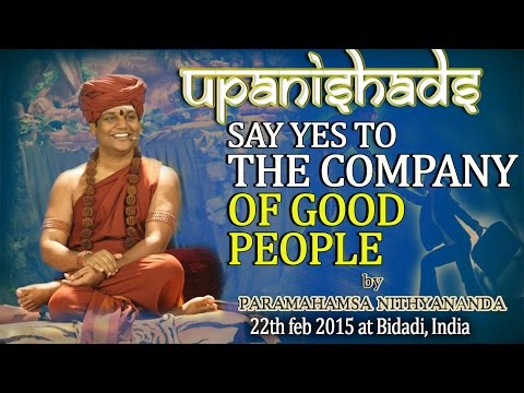 Say Yes to The Company of Good People