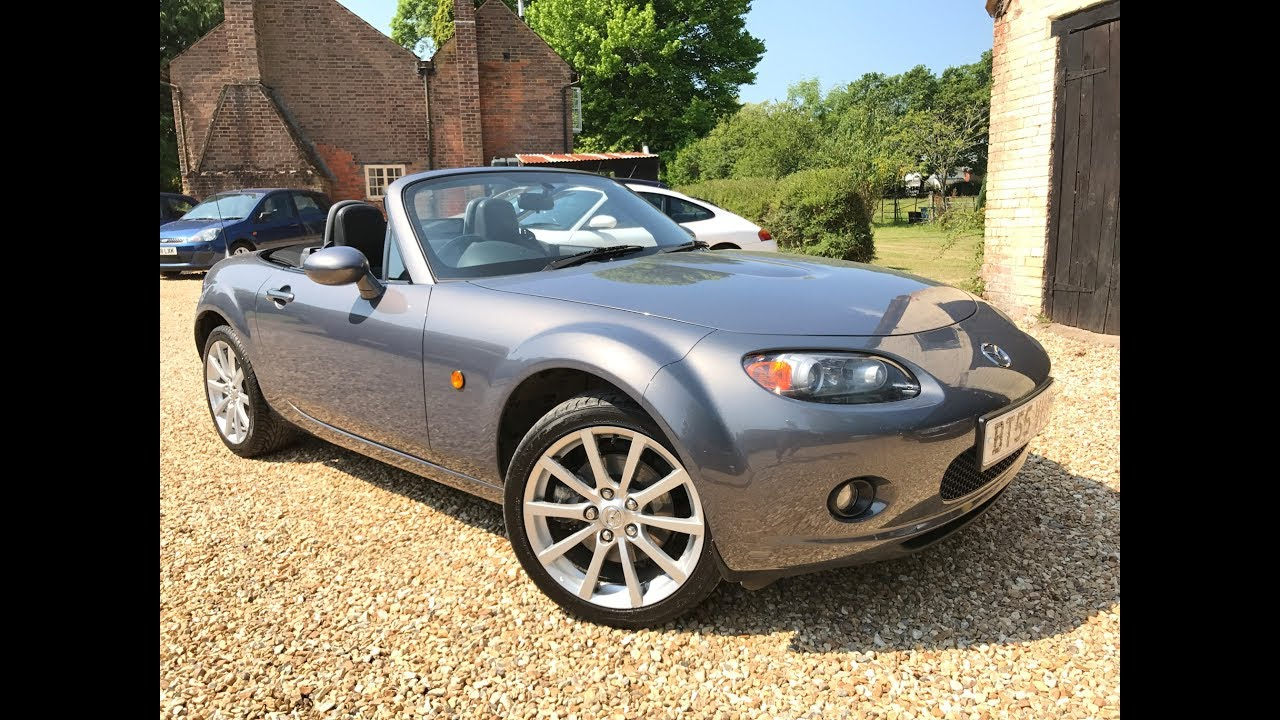 mazda mx 5 sport for sale via small cars direct hampshire youtube. Black Bedroom Furniture Sets. Home Design Ideas