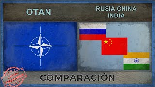 OTAN vs RUSIA, CHINA, INDIA | Potencia Militar (2018)