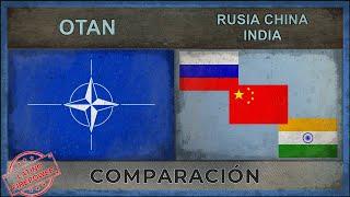 OTAN vs RUSIA, CHINA, INDIA | Potencia Militar (2018)