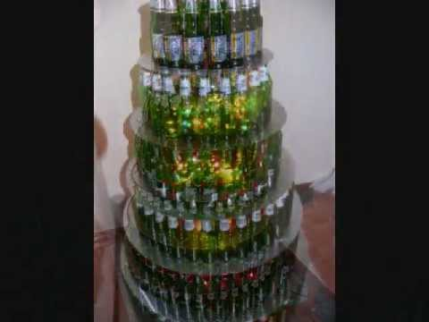 Beer Bottle Christmas tree - would actually be kind of ... |2946 Beer Bottle Christmas Tree