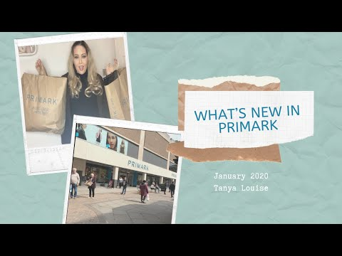 "WHAT""S NEW IN PRIMARK -
