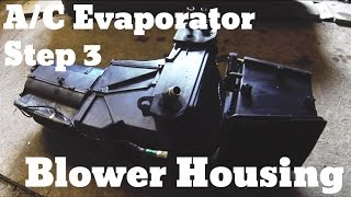Part 4 - Remove Evaporator / Blower Housing - Chevy Suburban A/C Evaporator