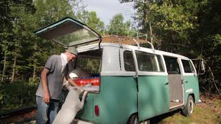 Cruise to town in the VW Bus