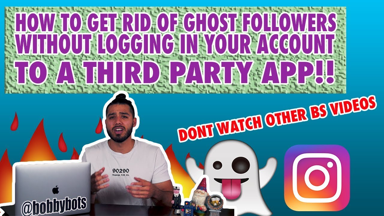 Remove Ghost Followers on instagram Best Method for 2018