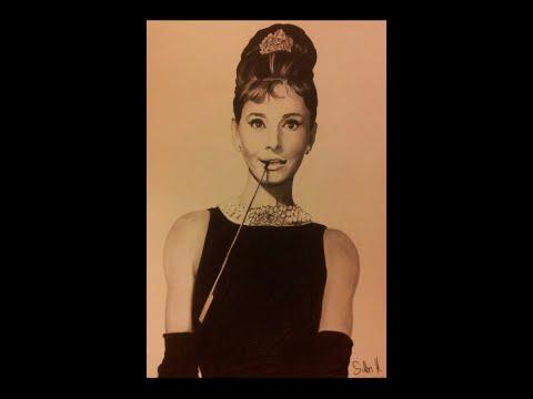 Audrey Hepburn drawing  |  Audrey Hapburn zeichnen    By SiHa ART