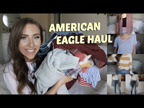 American Eagle Back To School Try On Haul | Back To School Series Ep. 1