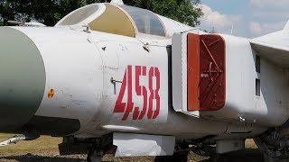 MIG-23 at Newark Air Museum England - 2018