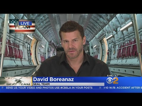 David Boreanaz Talks New  'Seal Team'