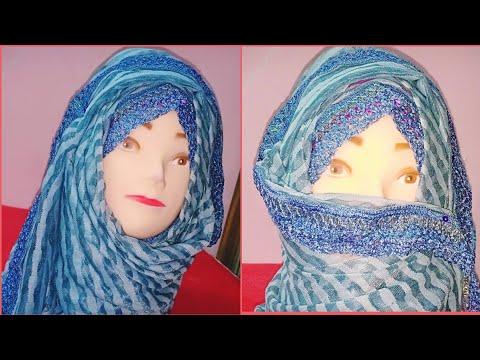New stylish hijab tutorial | Easy and stylish hijab | Alisha beauty thumbnail