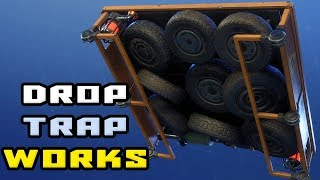 Drop Trap - How it works and why to use it NOW - FortNite Save The World