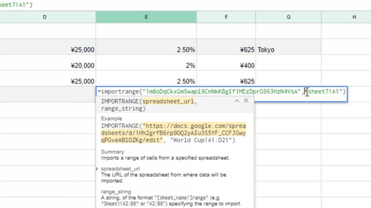 How To Link To Another File In Google Sheets Importrange Function