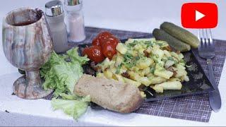 Картошка жаренная Как правильно пожарить картошку Наши секреты приготовления