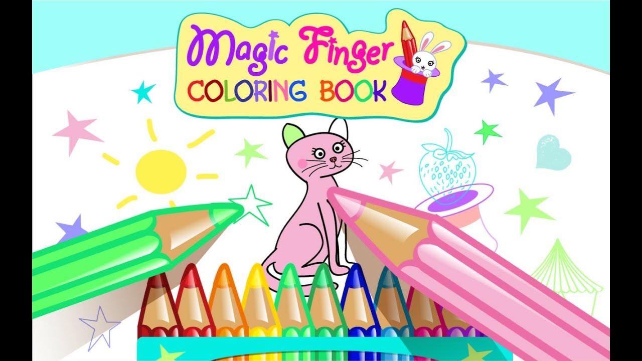 Magic Finger Coloring Book ITSSSoftware