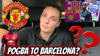 POGBA TO BARCELONA?! ALDERWEIRELD TO UNITED?