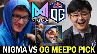 Wombo Combo vs Pos1 MEEPO — NIGMA vs OG Dota2