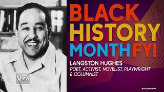 Black History Month FYI: Langston Hughes | The View