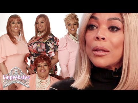 """Wendy Williams """"apologizes"""" to the Clark Sisters after shading them"""