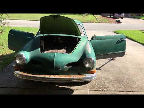 Volkswagen Karmann Ghia Vintage 1972 VW Restoration - Let's Go!