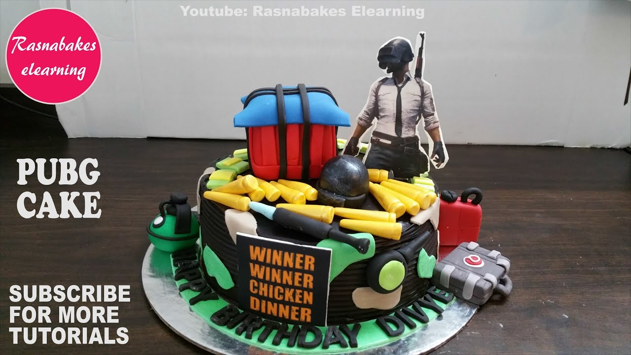 Pubg Vikendi Birthday Boy S Cake Chocolate Birthday Cake Design