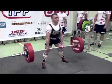 Sergey Fedosienko.@59kg. Bench press+deadlift. IPF Worlds 2015.