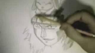 How to draw Kiba