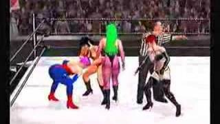 SvR2007 Vampirella & Chastity vs Morrigan & Lilith