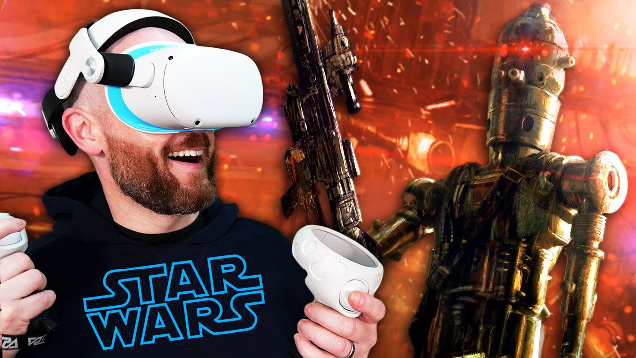 Play As IG-88 In VR! Star Wars: Tales From The Galaxy's Edge Last Call DLC