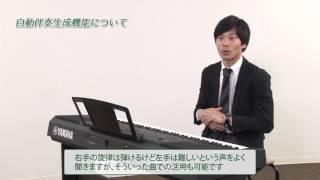 学校用電子ピアノ『音楽づくりの授業を助ける自動伴奏機能の活用』