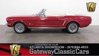 1965 Ford Mustang Convertible - Gateway Classic Cars of Atlanta #400