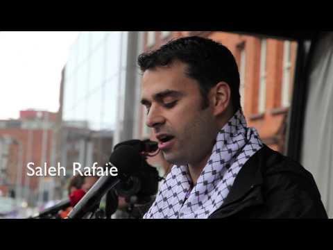 Ireland Gaza Protest Demands Expulsion Of Israeli Ambassador Over Crimes 2nd August 2014