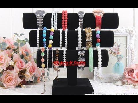 Diy Easy Necklace Bracelet Holder Room Decor Diy Jewelry