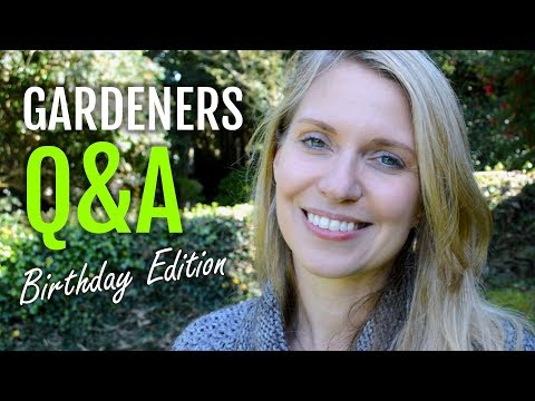 Gardener's Q&A Birthday Edition + a Giveaway