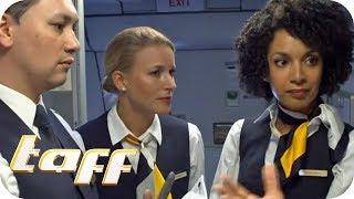 TRAUMJOB oder ALBTRAUM (2/2): Wie HART ist der Job als Stewardess?   taff   ProSieben