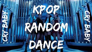 Mini K-pop random dance// Cry baby