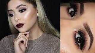 Vampy Fall Makeup Look + HUGE TOOFACED GIVEAWAY!