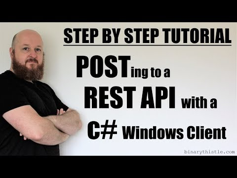 Step by Step Tutorial: POSTing to a REST...