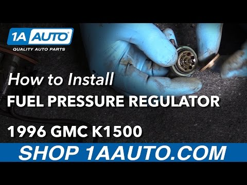How to Install Replace Fuel Pressure Regulator 1996 GMC Sierra K1500 5.7L V8