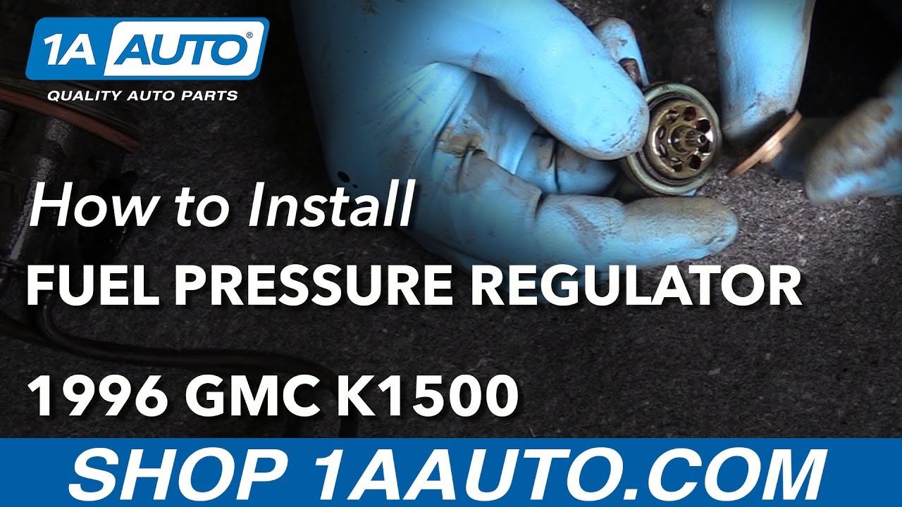 hight resolution of how to replace fuel pressure regulator 88 98 gmc k1500