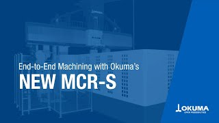 Double-column machining center mcr-s video brochure【okuma corporation japan】