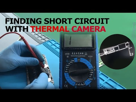 Find An IPhone Short Circuit By Using Thermal Imager